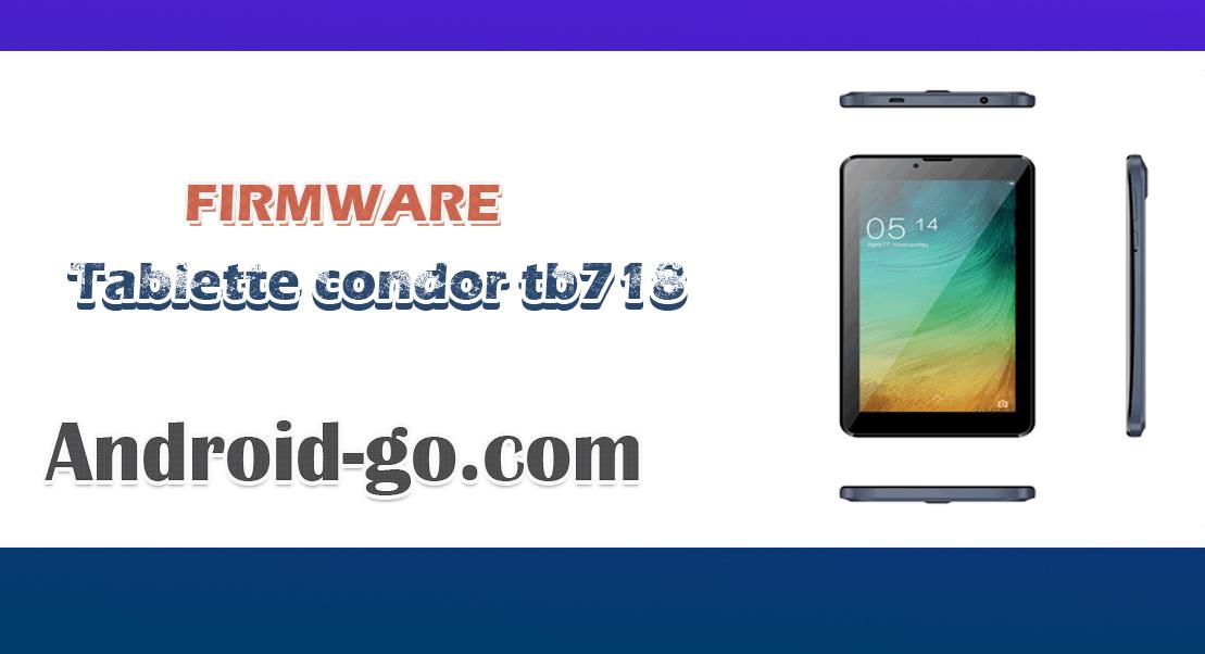 Tablette condor tb718