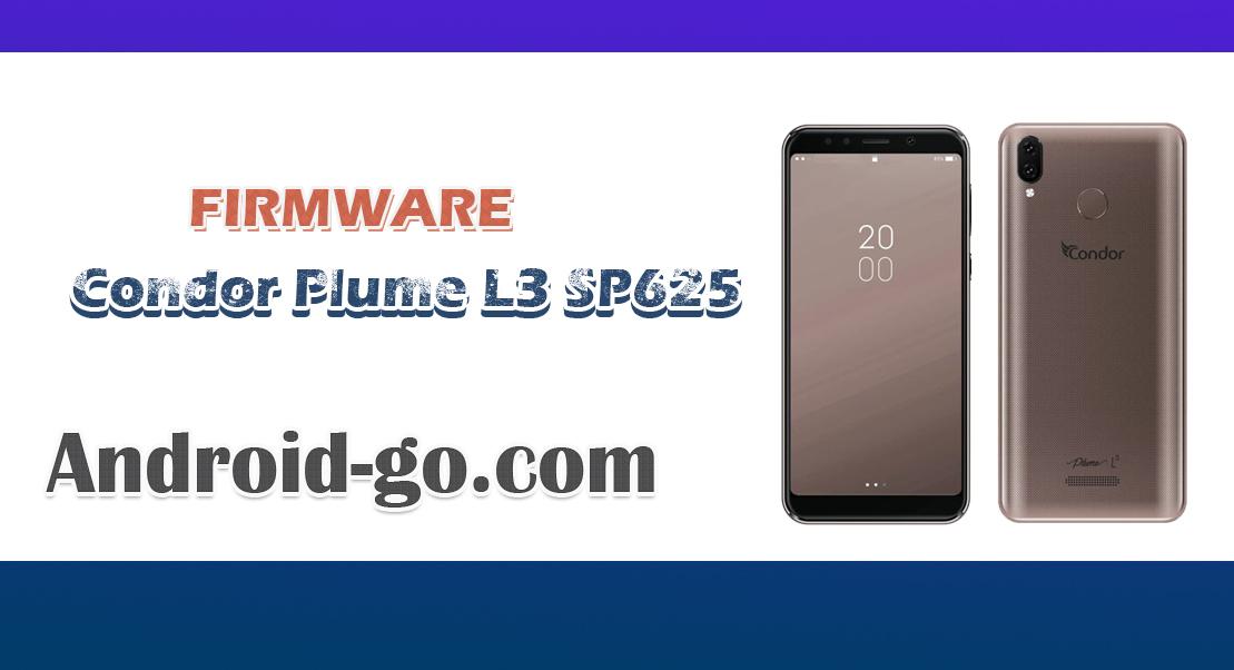 firmware Condor Plume L3 SP625