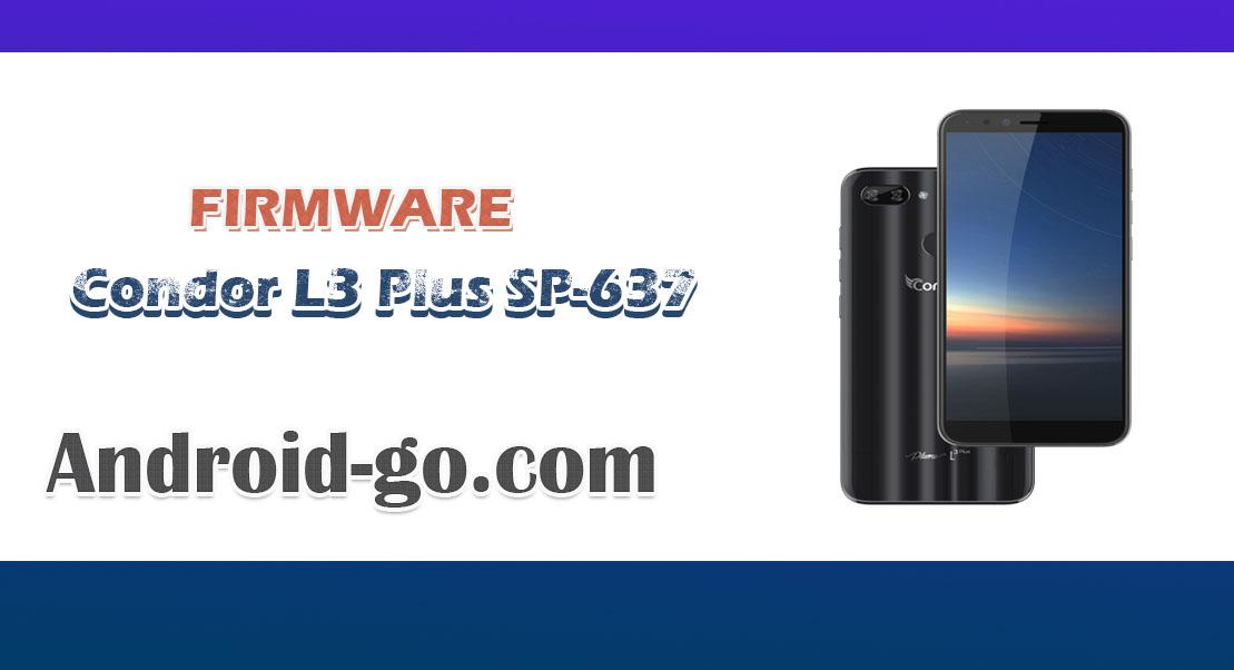 Firmware Condor L3 Plus SP-637