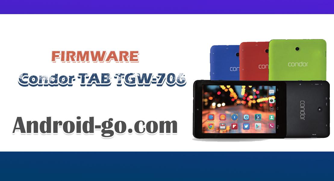 Firmware Condor Tab TGW-706